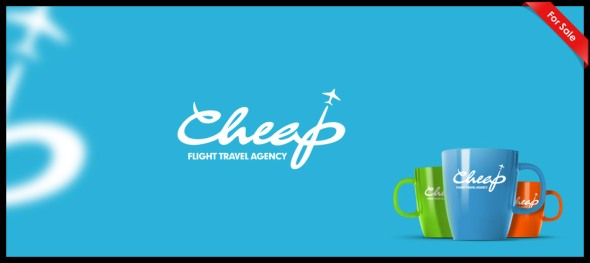 Cheap Flight Travel Agency logo design by Janis Ancitis