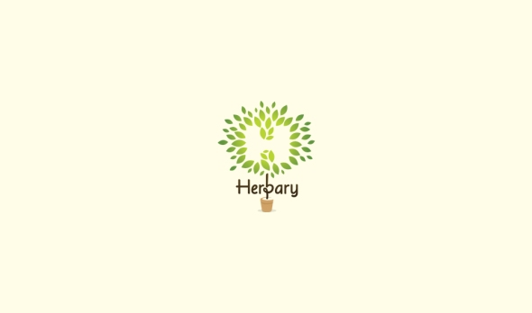 HerbaryLogoDesignAncitis