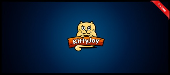 Kitty Joy logo design by Janis Ancitis