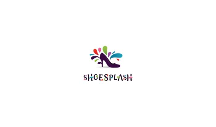ShoeSplashLogoDesignAncitis