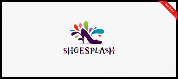 Shoe Splash logo design by Janis Ancitis