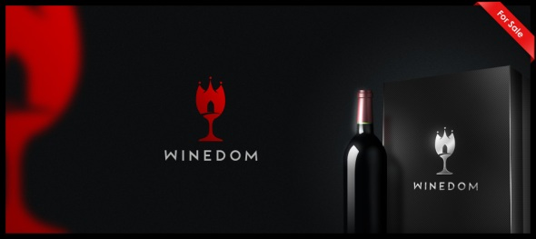 Winedom Logo Design by Janis Ancitis