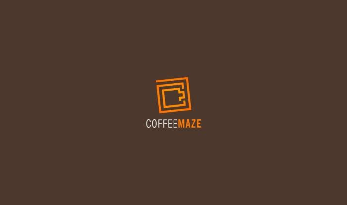 CoffeeMazeLogoDesignAncitis
