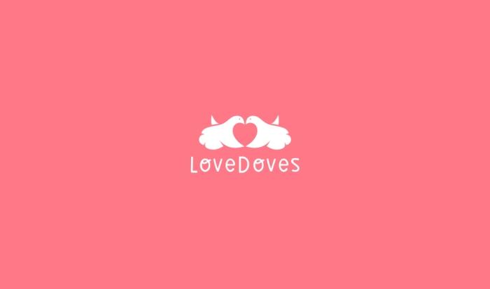 LoveDovesLogoDesignAncitis