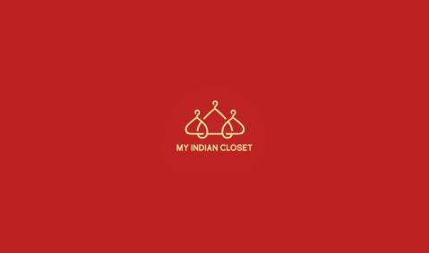 MyIndianClosetLogoDesignAncitis