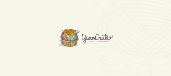 Yarn Crate Logo by Ancitis