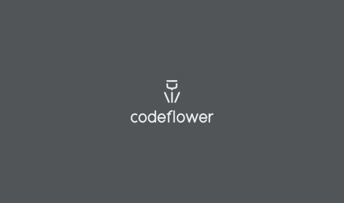 CodeFlowerLogoDesignAncitis