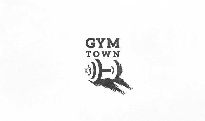Gym Town logo design by Ancitis