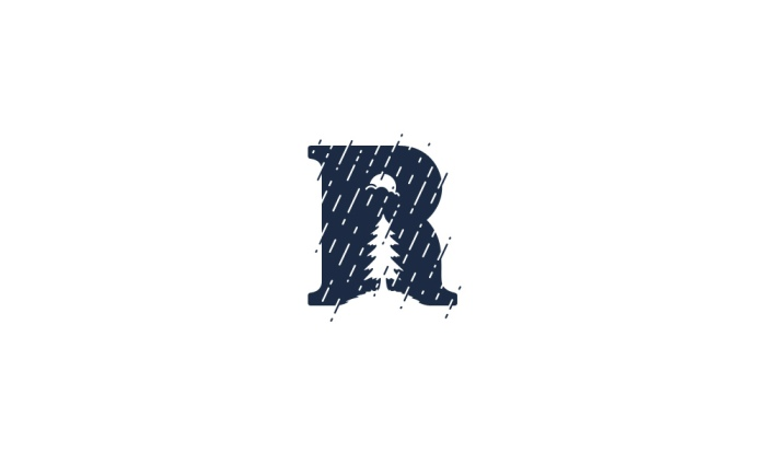 R is for Rain logo design by Ancitis