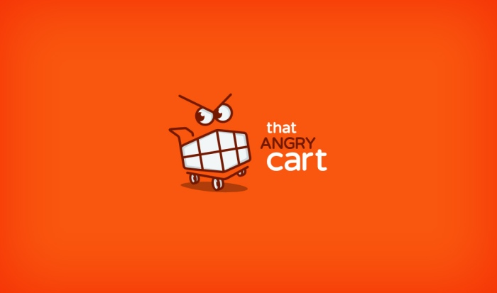 That Angry Cart logo design by Ancitis