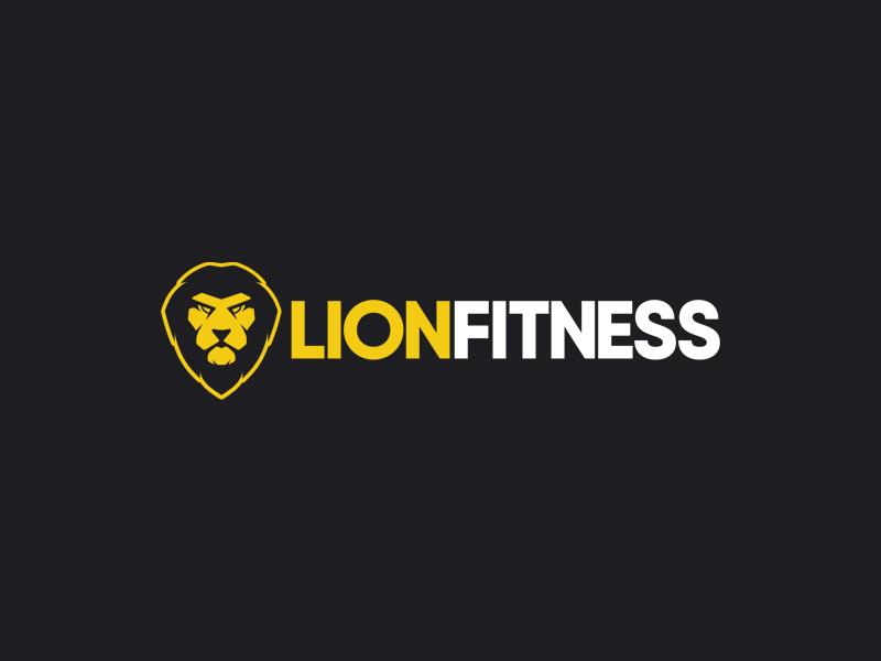 lionfitness_logo_design