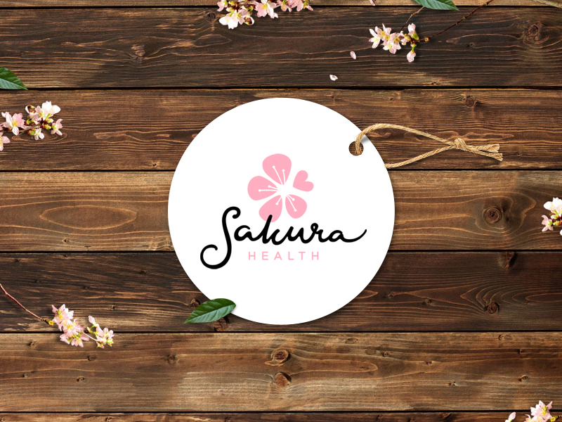 sakurahealth_logo_design
