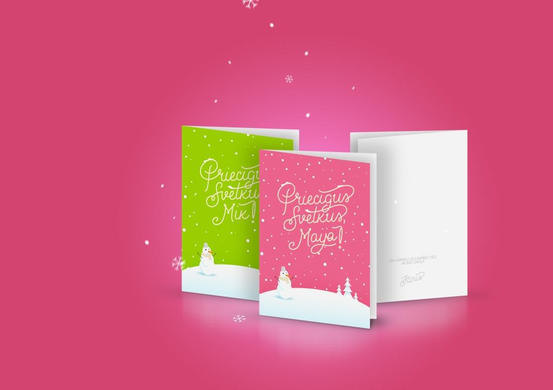 Christmas Cards Janis Ancitis Logo Design Portfolio